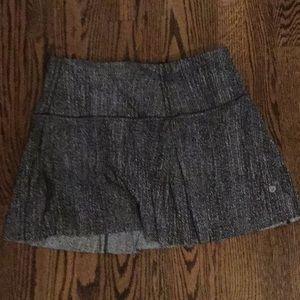 Lulu lemon size 8 tall running skirt